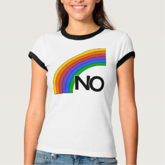 "Rainbow ""NO"" T-Shirt"