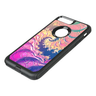 Rainbow Octopus Tentacles in a Fractal Spiral OtterBox Commuter iPhone 8 Plus/7 Plus Case