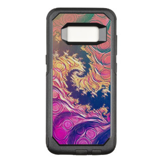 Rainbow Octopus Tentacles in a Fractal Spiral OtterBox Commuter Samsung Galaxy S8 Case