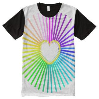 Rainbow of color pencils