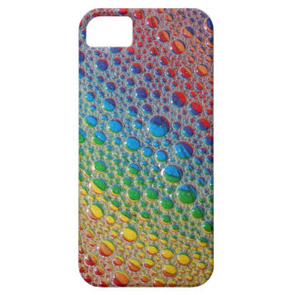 Rainbow of Colorful Bubbles Liquid Cell Phone Case