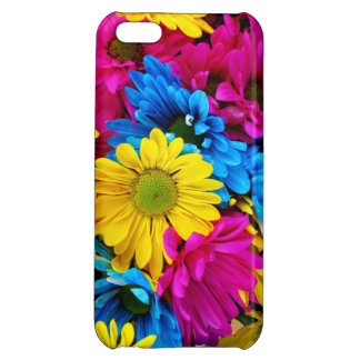 Rainbow of Daisies Cover For iPhone 5C