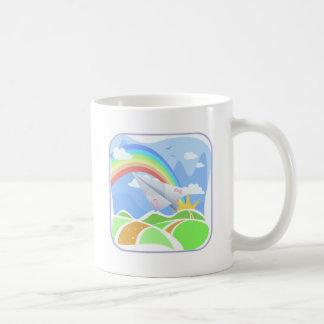 Rainbow of Hope Classic White Coffee Mug