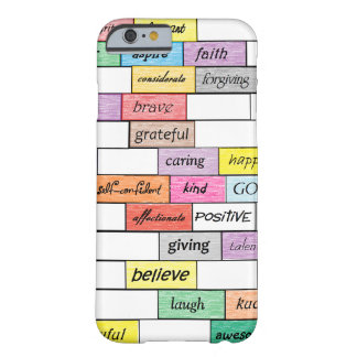 Rainbow of Inspirational Graffiti iPhone 6 case
