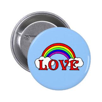 Rainbow Of Love 2 Inch Round Button