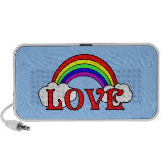 Rainbow Of Love Mini Speakers