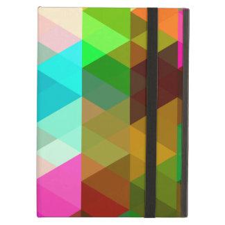 Rainbow of Quadrangles iPad Air Case