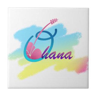 Rainbow Ohana Ceramic Tile