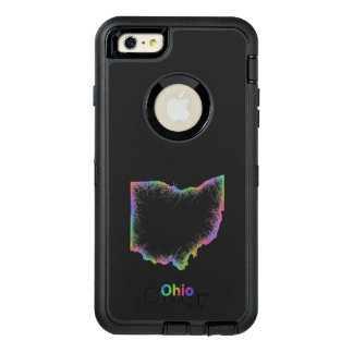 Rainbow Ohio map OtterBox iPhone 6/6s Plus Case
