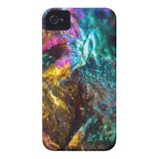 Rainbow Oil Slick Crystal Rock iPhone 4 Case-Mate Cases