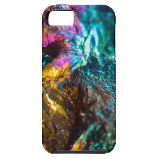 Rainbow Oil Slick Crystal Rock iPhone 5 Cover