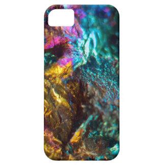 Rainbow Oil Slick Crystal Rock iPhone 5 Covers