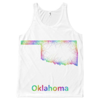 Rainbow Oklahoma map