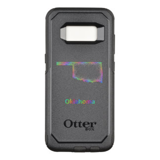 Rainbow Oklahoma map OtterBox Commuter Samsung Galaxy S8 Case