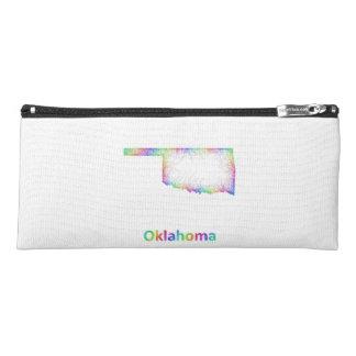 Rainbow Oklahoma map Pencil Case