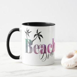 RAINBOW OMBRE - BEACH BRIDE MUG