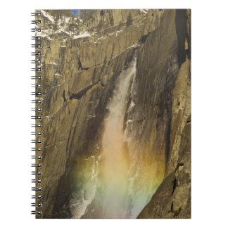 Rainbow on Upper Yosemite Falls in Yosemite Notebook