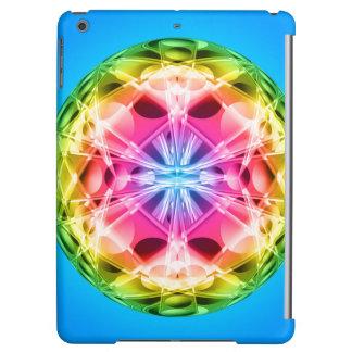 Rainbow Orb Mandala Case For iPad Air