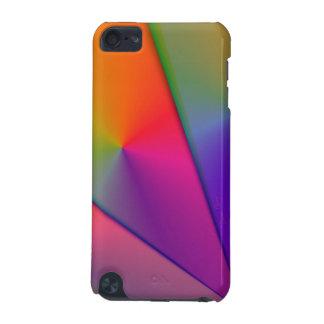 Rainbow Origami – Indigo & Magenta Swirls iPod Touch 5G Case