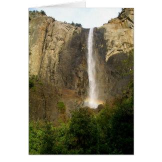 Rainbow over Bridalveil Falls Card