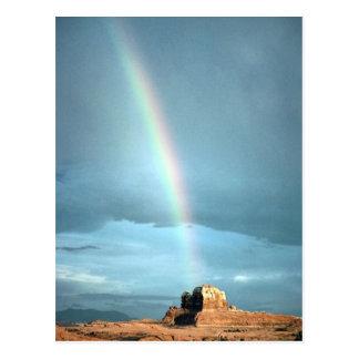 Rainbow over Canyonlands National Park, Utah, U.S. Postcard