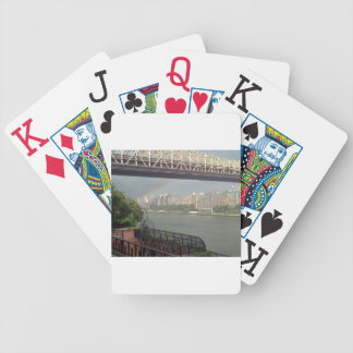 Rainbow over East River Bicycle Playing Cards