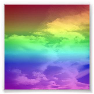 Rainbow Overlay Photograph