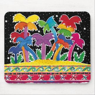 Rainbow-Palms Mousepad