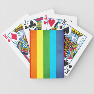 Rainbow Pants Unicorn Bicycle Playing Cards