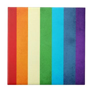 Rainbow Pants Unicorn Tile