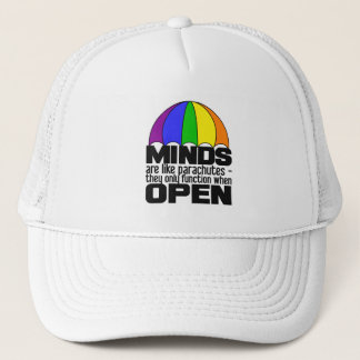 Rainbow Parachute hat - choose color