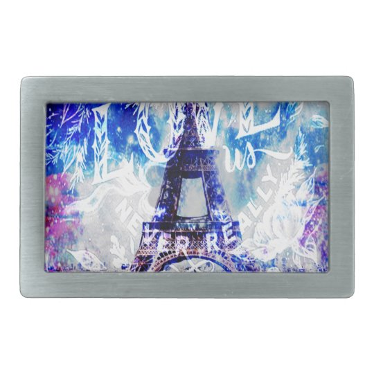 Rainbow Parisian Dreams of the Ones that Love Us Belt Buckle