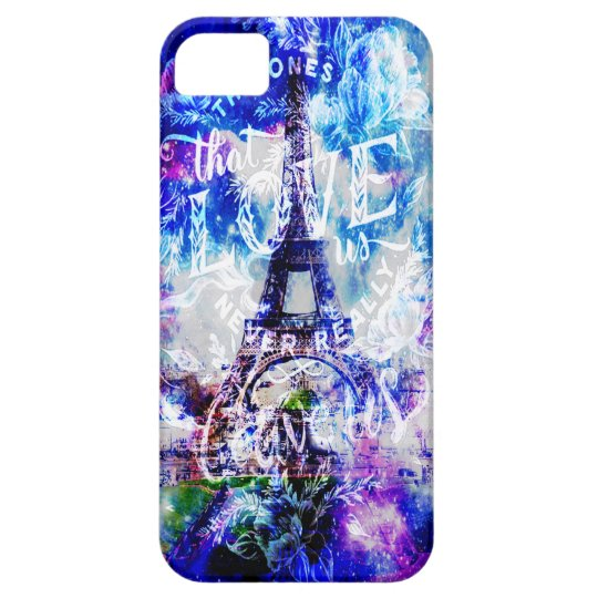 Rainbow Parisian Dreams of the Ones that Love Us iPhone 5 Cover