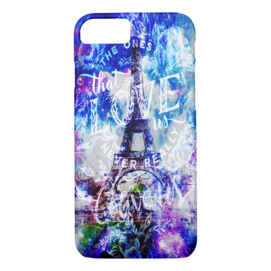 Rainbow Parisian Dreams of the Ones that Love Us iPhone 8/7 Case