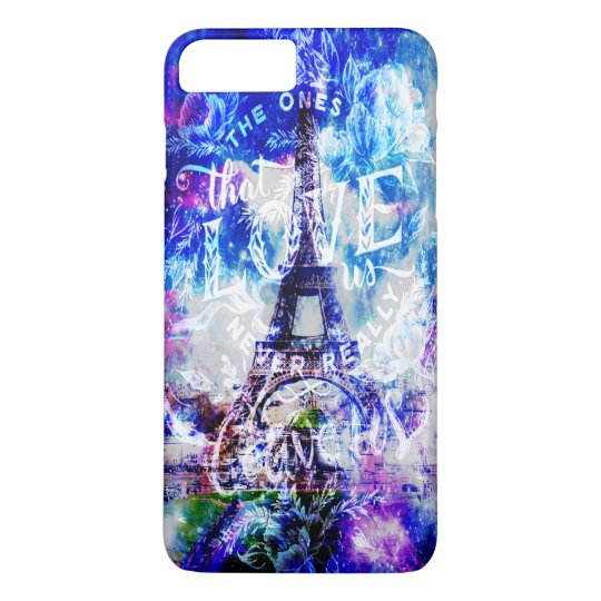 Rainbow Parisian Dreams of the Ones that Love Us iPhone 8 Plus/7 Plus Case