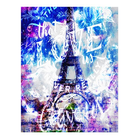 Rainbow Parisian Dreams of the Ones that Love Us Letterhead