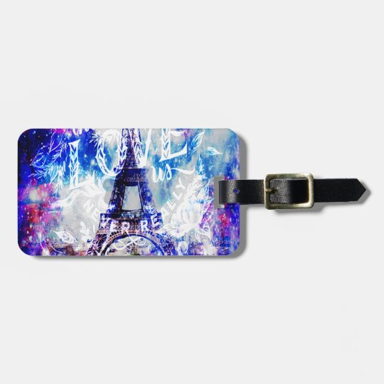 Rainbow Parisian Dreams of the Ones that Love Us Luggage Tag