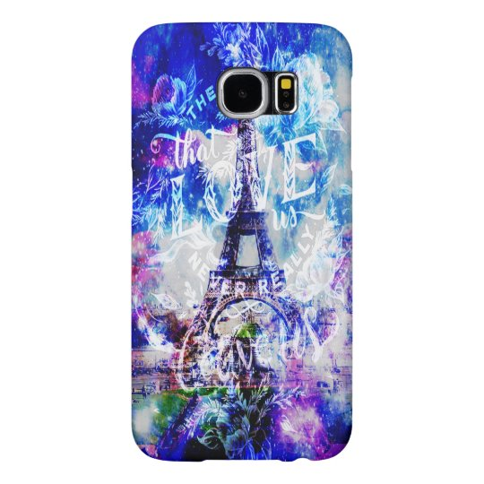 Rainbow Parisian Dreams of the Ones that Love Us Samsung Galaxy S6 Cases