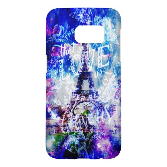 Rainbow Parisian Dreams of the Ones that Love Us Samsung Galaxy S7 Case