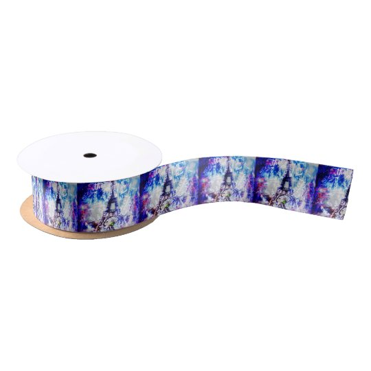 Rainbow Parisian Dreams of the Ones that Love Us Satin Ribbon