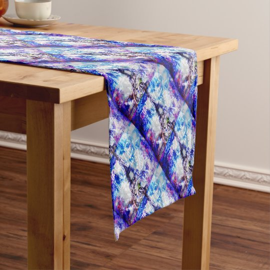 Rainbow Parisian Dreams of the Ones that Love Us Short Table Runner