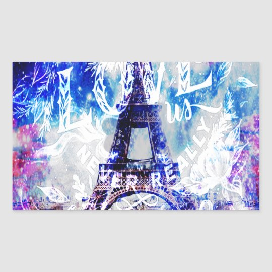 Rainbow Parisian Dreams of the Ones that Love Us Sticker