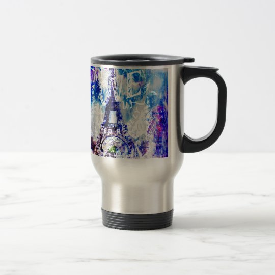 Rainbow Parisian Dreams of the Ones that Love Us Travel Mug