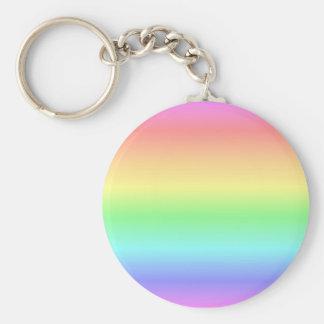 Rainbow Pastel Keychain