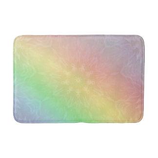 Rainbow Pastel Mandala design Bath Mat