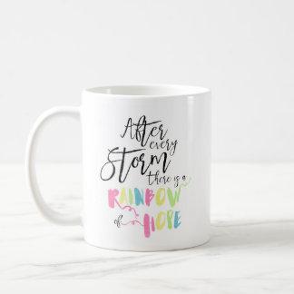Rainbow Pastel Watercolor Rainbow Of Hope Mug