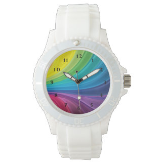 Rainbow Pattern Watch