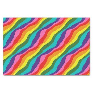 Rainbow Patterns Tissue Paper