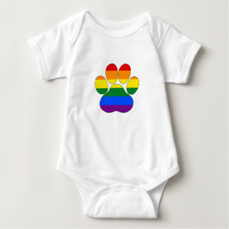 Rainbow Paw Baby Bodysuit