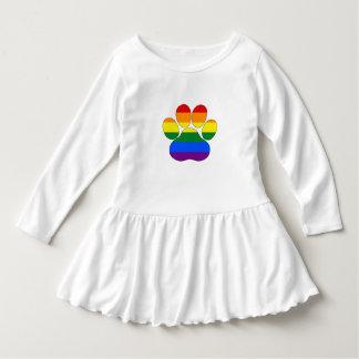 Rainbow Paw Dress